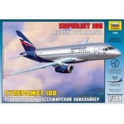 ZVEZDA 7009, Superjet 100, Aeroflot, 1:144