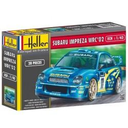 Heller 80199, Subaru Impreza WRC'02, skala 1:43