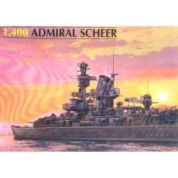 Heller 81045, Admiral Scheer, skala 1:400