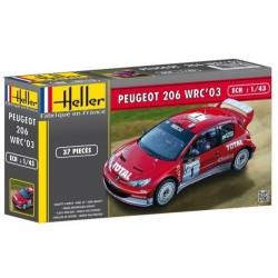 Heller 80113, Peugeot 206 WRC, skala 1:43