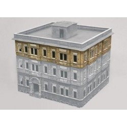 Italeri 6086, Kamienica, Berlin WWII, 25,3x23x17 cm, 1:72
