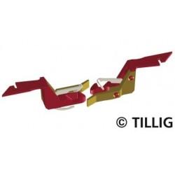 Tillig 08847-2, Para sprzęgów TT - nowy typ do BTTB