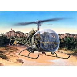 Italeri 0857, OH-13S Sioux, skala 1:48