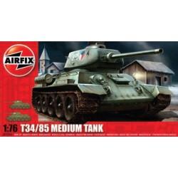 Airfix 01316, T34/85 Medium Tank, WWII, skala 1:76