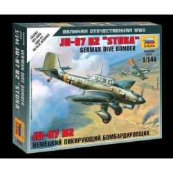 "Zvezda 6123, Ju-87 B2 ""Stuka"", skala 1:144"