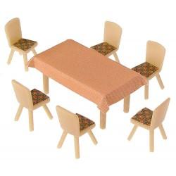 Faller 180442, 4 stoły i 24 krzesła, skala H0
