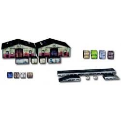 Heki 10600, Magazyny, akcesoria, skala H0, karton