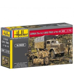Heller 79994, OPEL BLITZ & PAK 40, skala 1:72