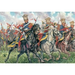 Italeri 6039, Polish - Duth Lancers, 1:72