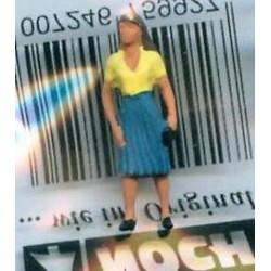 """NOCH 118-038, osoba stojąca, """"Kobieta"""", figurka, skala N"""