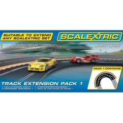 Scalextric C8510, Track Extension Pack 1, 1:32