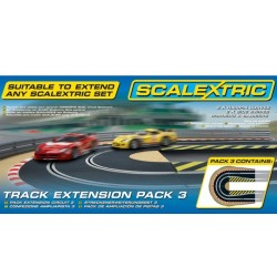 Scalextric C8512, Track Extension Pack 3, 1:32