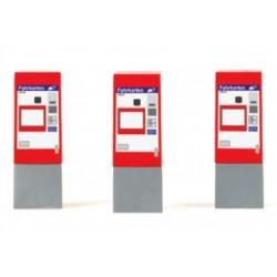 Rietze 70244, Automaty biletowe OBB, 3 szt. skala H0