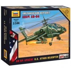 Zvezda 7408, AH-64 Apache U.S. Attack Helicopter, skala 1:144