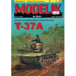 MODELIK 0726, T-37A, skala 1:25