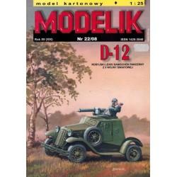 MODELIK 0822, D-12, skala 1:25