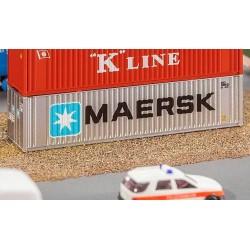 Faller 272821, 40' Hi-Cube kontener »MAERSK«, skala N 1:160