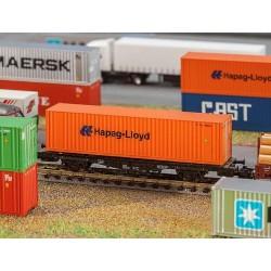 Faller 272842, 40' Hi-Cube kontener »Hapag-Lloyd«, skala N 1:160