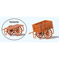 Preiser 17711, Wózek peronowy (bagażowy), skala H0