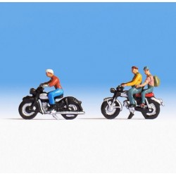 NOCH 15904, Motocykle i motocykliści (z-5) skala H0