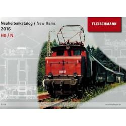 FKN16, Katalog Fleischmann nowości 2016, H0 / N