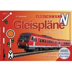 Fleischmann 81399, Plany makiet (D), torowiska N