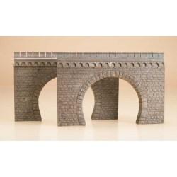 41587 Dwa portale tunelowe 2-torowe