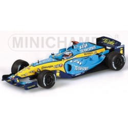 Minichamps 400050075, Renault F1 2005 F.Alonso, 1:43