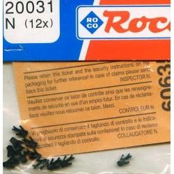 ROCO 20031-1, adapter krótkiego sprzęgu Roco-Fleischmann, skala N