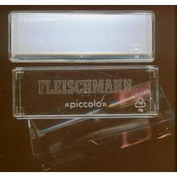 FL 001103, Trzy przezroczyste plastikowe pudełka 105x35x23
