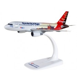 "Herpa 611138, CSA Czech Airlines Airbus A319 ""Prague - City of Magic"", 1:200"