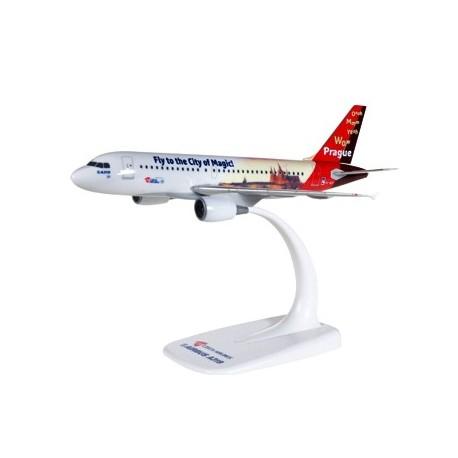 "Herpa 611138, CSA Czech Airlines Airbus A319 ""Prague - City of Magic"", 1:200"