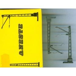 Aneste 8001-1, Słup trakcyjny pojedynczy, skala N
