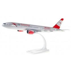 Herpa 611633, Austrian Boeing 777-200, 1:200
