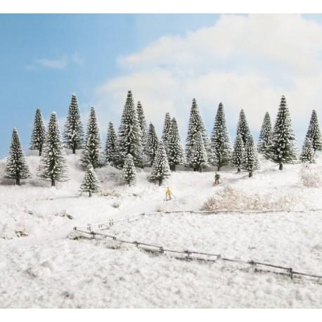 Noch 32828, Zestaw 25 drzew do zimowej scenerii