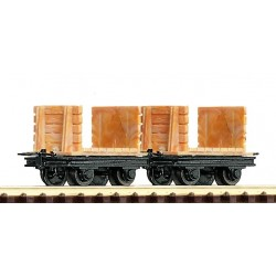 34604 Dwa wagony H0e