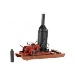 Bachmann 18302, Dwa destylatory drewna, H0, ładunki