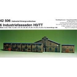 Auhagen 42506, Fasady kamienic