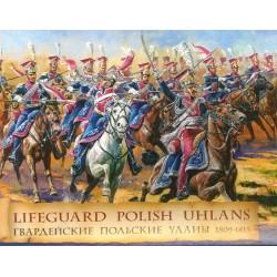 ZVEZDA 8075, Polscy ułani 1809-1815, 1:72