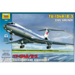 ZVEZDA 7007, Tupolev TU-134 B, 1:144