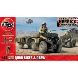 Airfix 04701, British Quad Bikes and Crew, 1:48