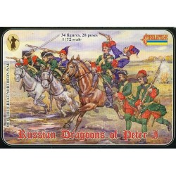 STRELETS-R 0010, Russian Dragons of Peter I, 1:72