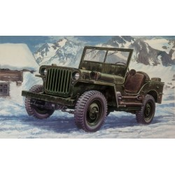 Italeri 3721, Willys Jeep ¼ ton, 1:24