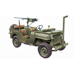 Italeri 6351, WILLYS JEEP with M2 Machine Gun, 1:24