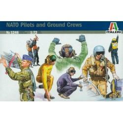 Italeri 1246, Piloci i obsługa naziemna, NATO, 1:72