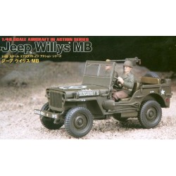 Hasegawa X48-12, Jeep Willys MB, 1/48, 36012