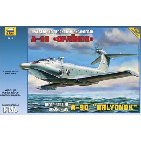 ZVEZDA 7016, Ekranoplan A-90 ORLYONOK, 1:144