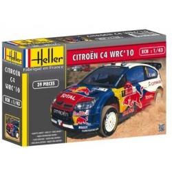 Heller 80117, Citroen C4 WRC '10, skala 1:43