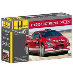 Heller 80115, Peugeot 307 WRC, skala 1:43