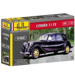 Heller 80159, Citroen 11 CV, skala 1:43